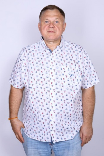 Рубашка мужская Nautica WR8272